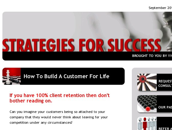 Build a customer for life